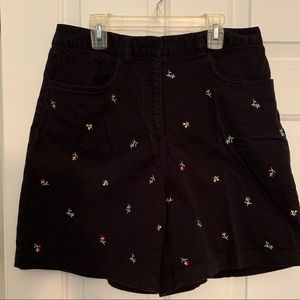 Talbots shorts with flowers